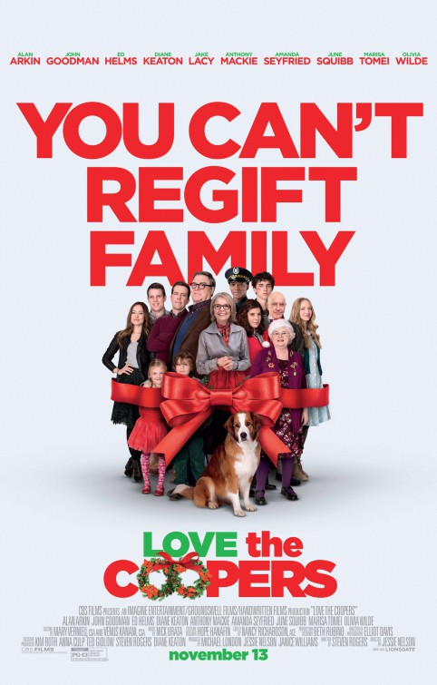 affiche du film Love the Coopers