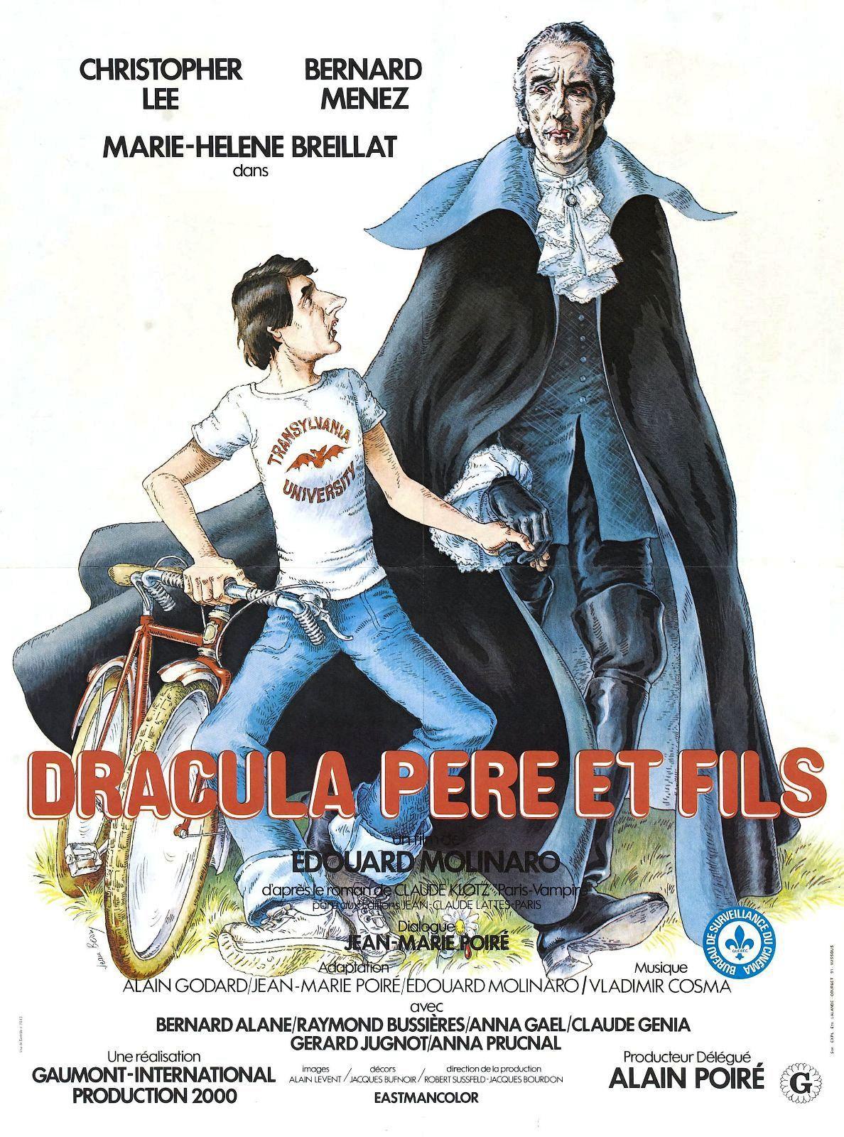 affiche du film Dracula père et fils