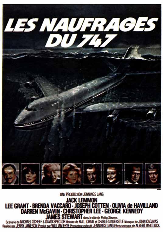 affiche du film Les Naufragés du 747