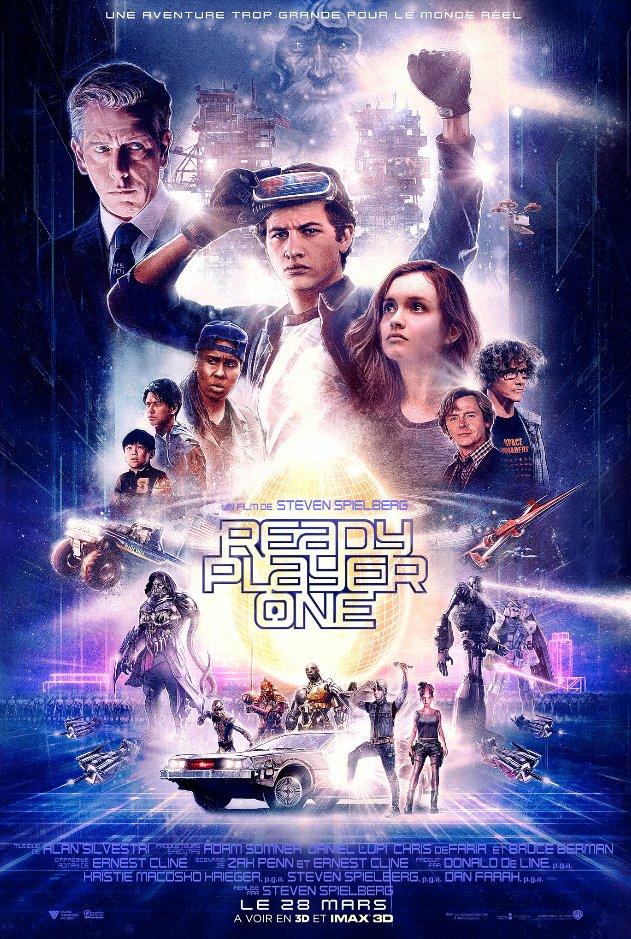 affiche du film Ready Player One