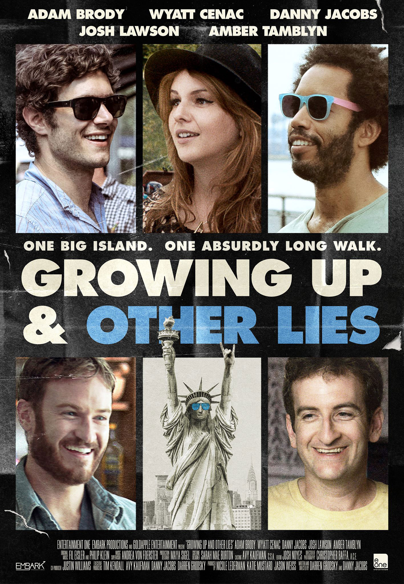 affiche du film Growing Up and Other Lies