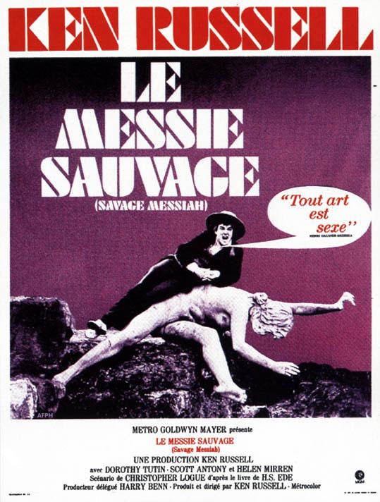 affiche du film Le Messie Sauvage