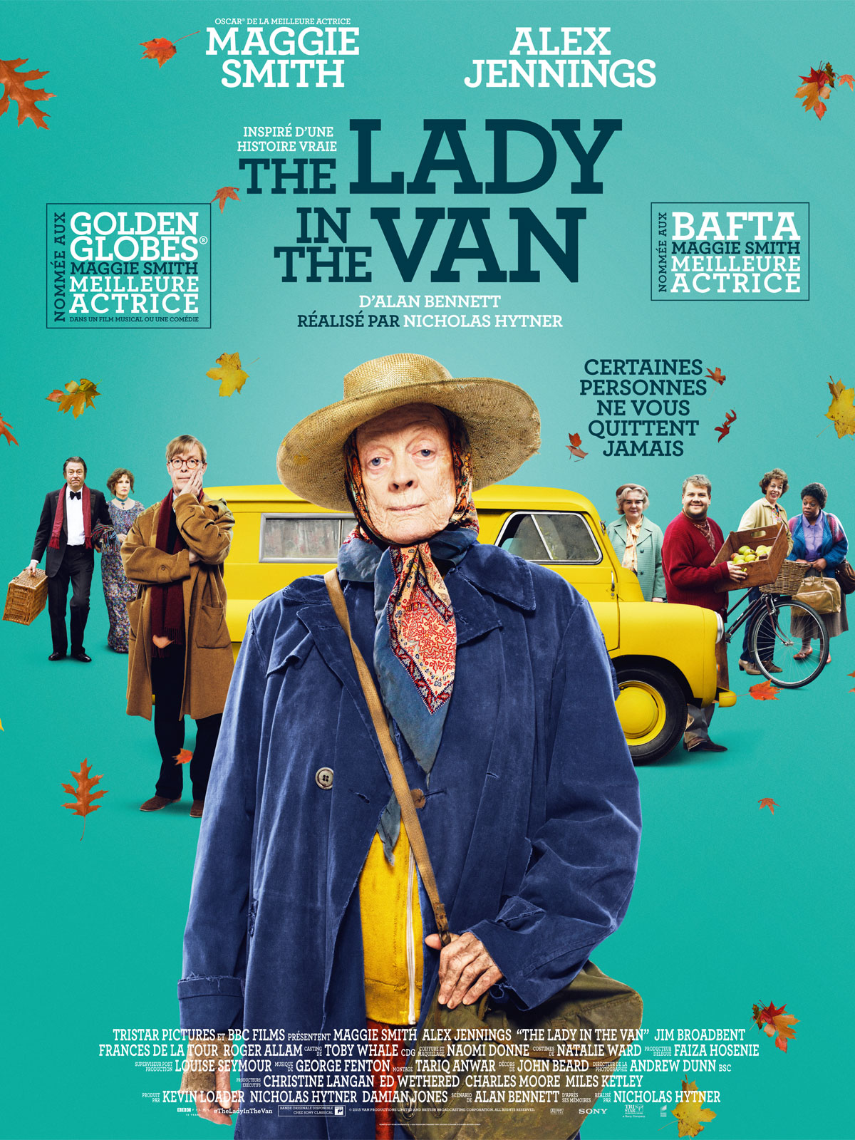 affiche du film The Lady In The Van