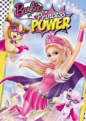 affiche du film Barbie en Super Princesse