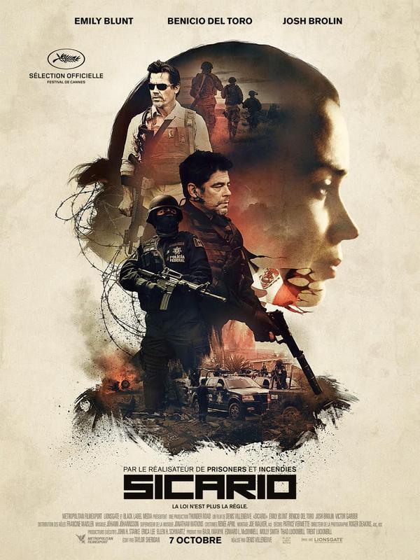 affiche du film Sicario