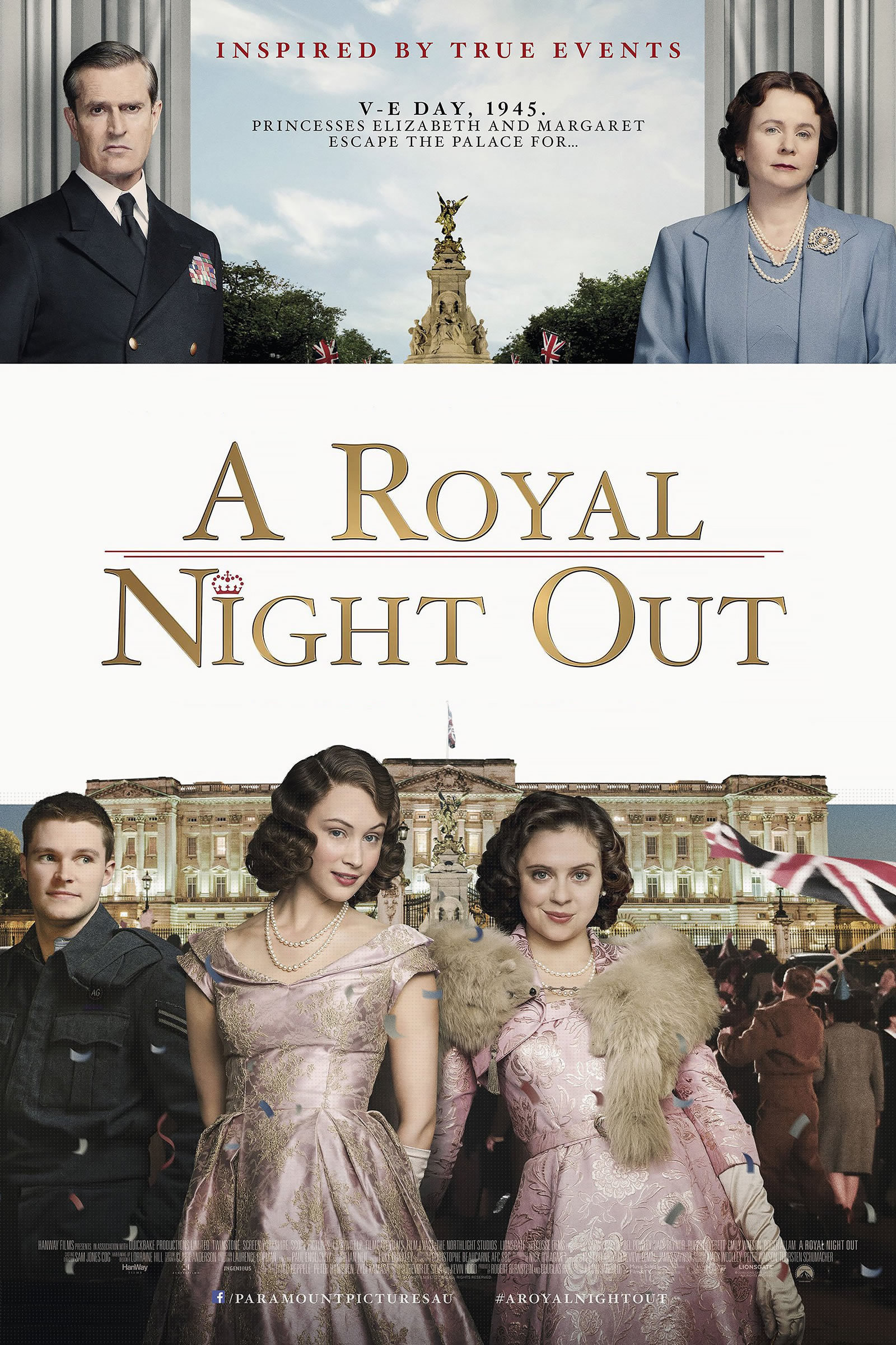affiche du film A Royal Night Out