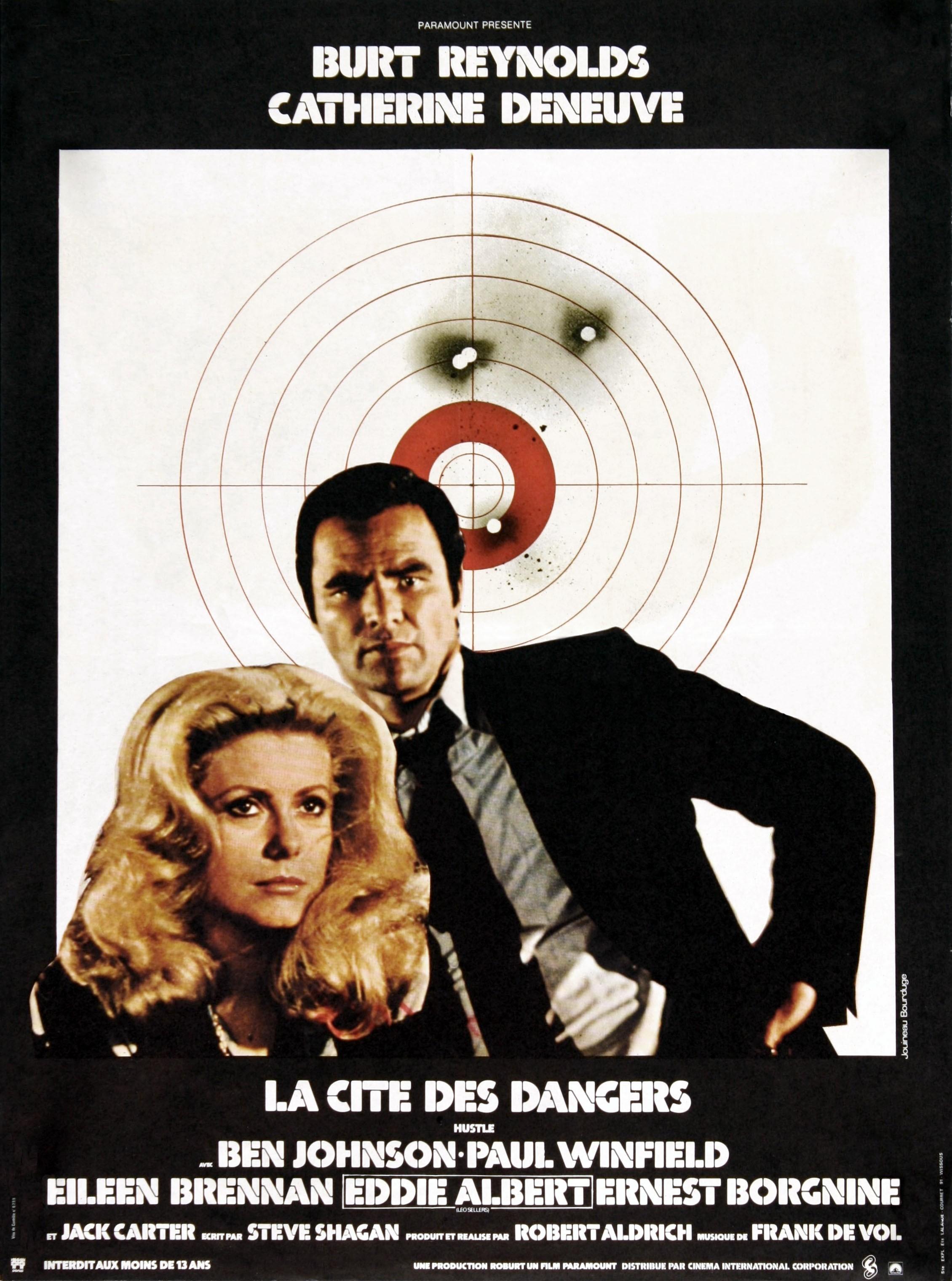 affiche du film La Cité des dangers