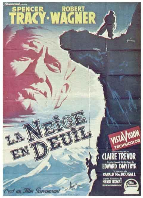 affiche du film La Neige en deuil