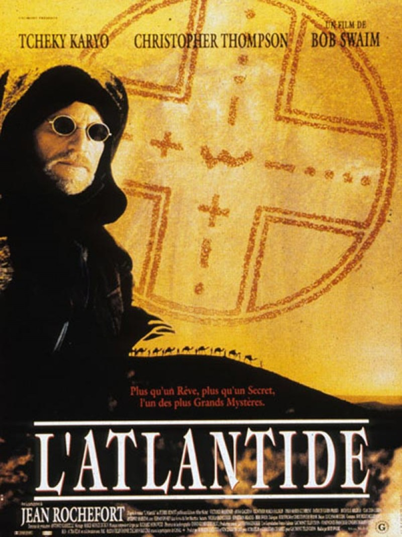 affiche du film L'Atlantide