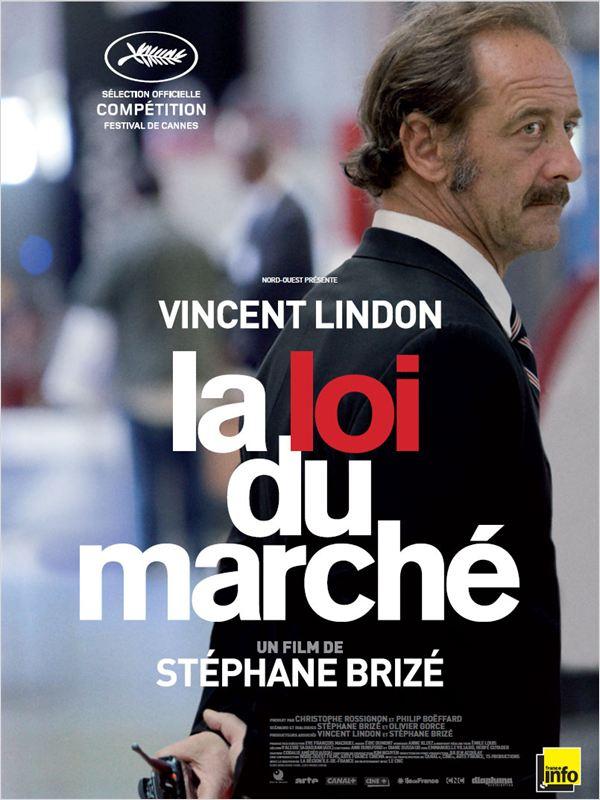 affiche du film La Loi du Marché