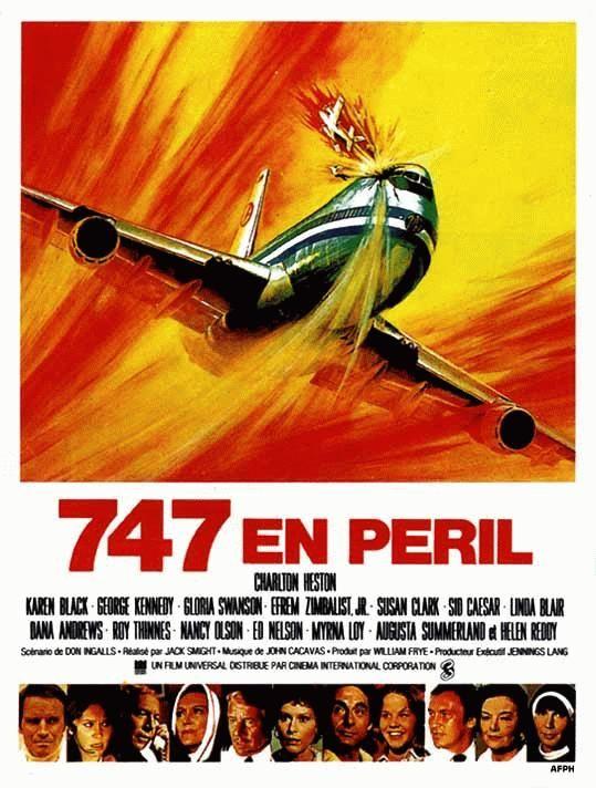 affiche du film 747 en péril