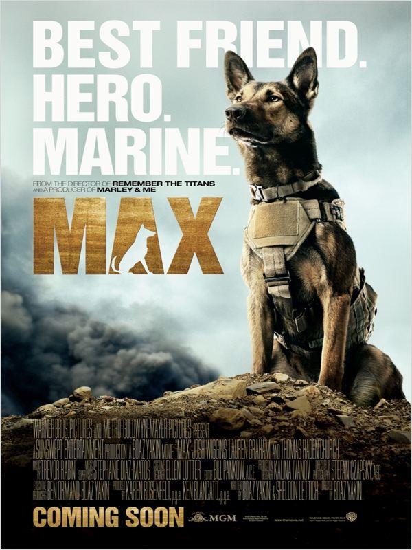 affiche du film Max (2015)