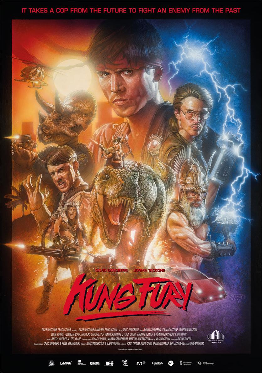 affiche du film Kung Fury