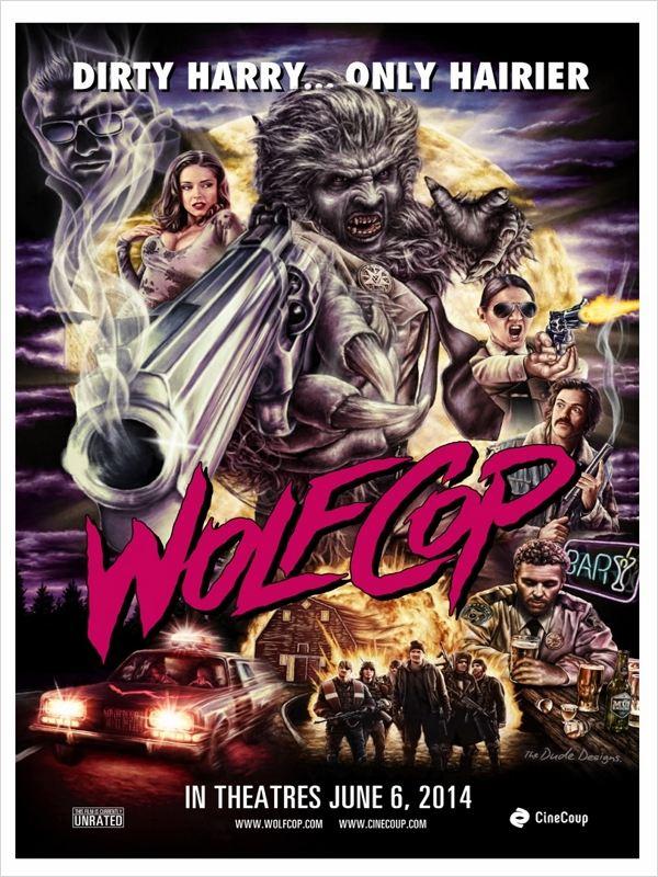affiche du film Wolfcop