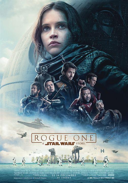 affiche du film Rogue One: A Star Wars Story