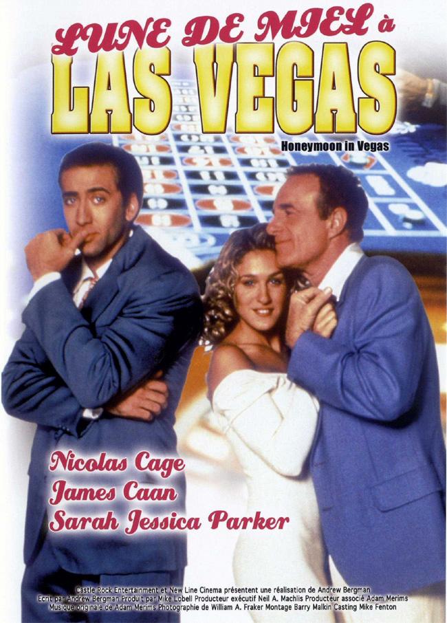 affiche du film Lune de miel à Las Vegas