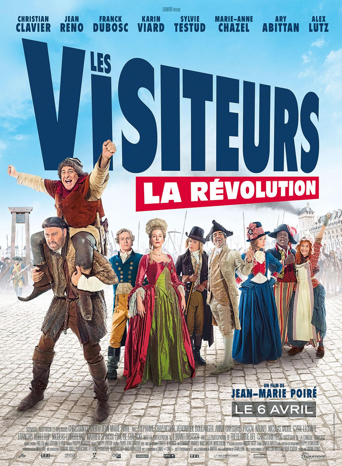affiche du film Les Visiteurs 3 : La Révolution