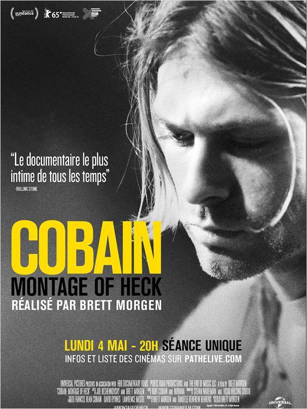 affiche du film Kurt Cobain: Montage of Heck