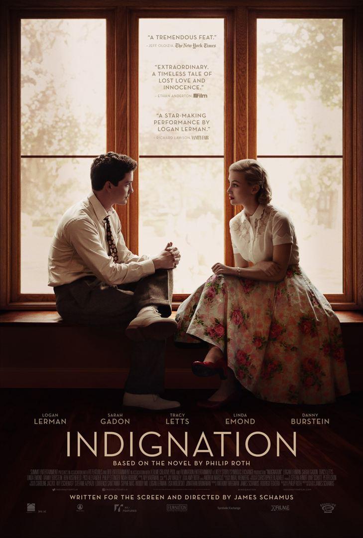 affiche du film Indignation