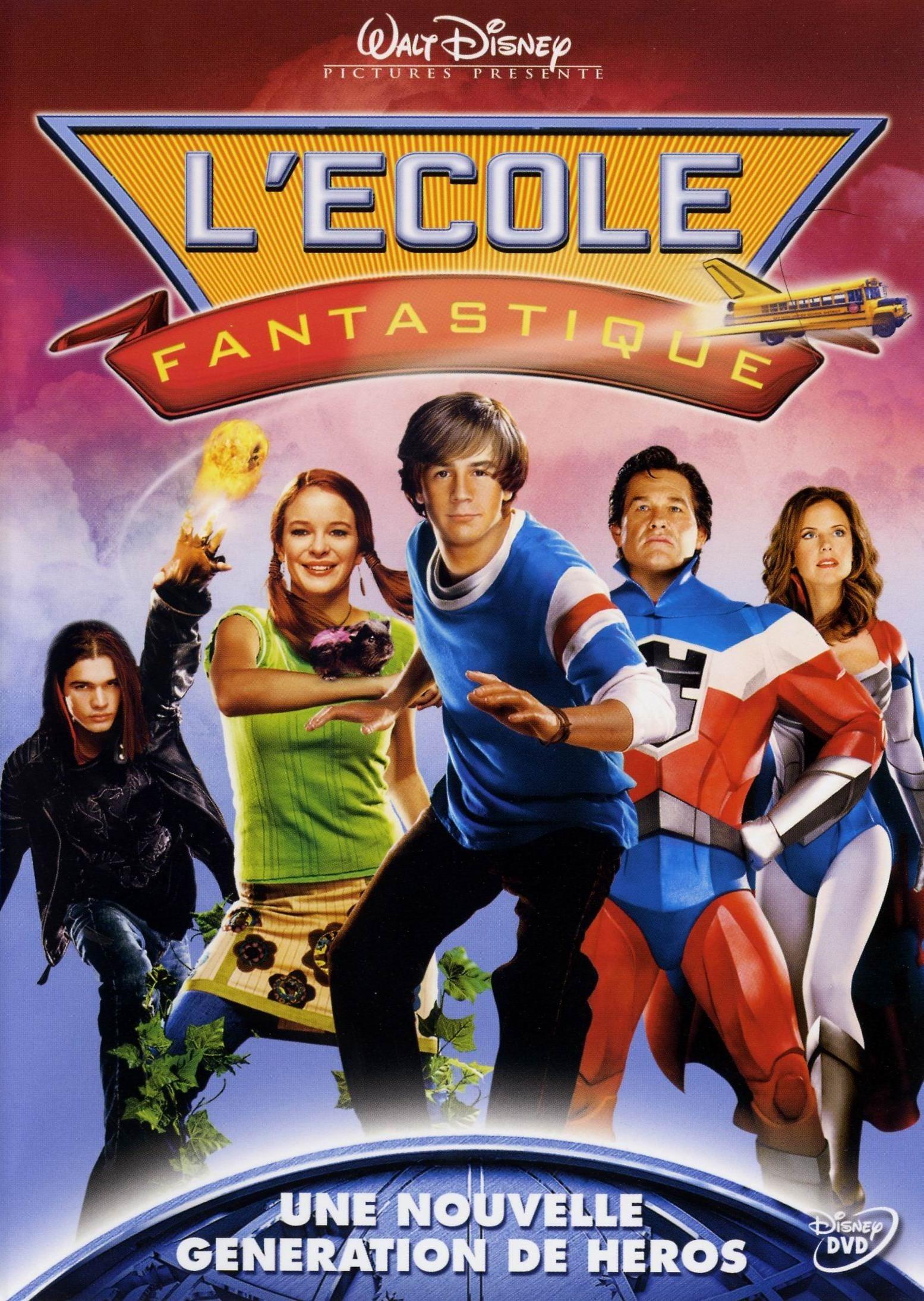 affiche du film L'École fantastique