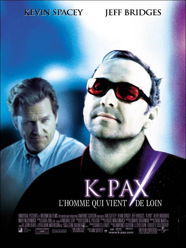 affiche du film K-PAX : L'homme qui vient de loin