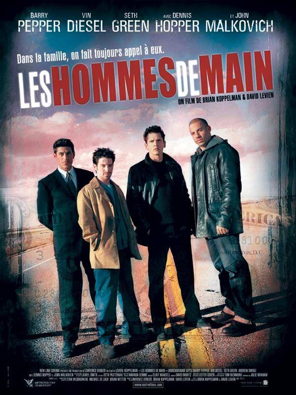 affiche du film Les hommes de main