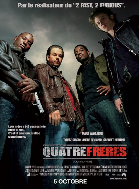 affiche du film Quatre frères