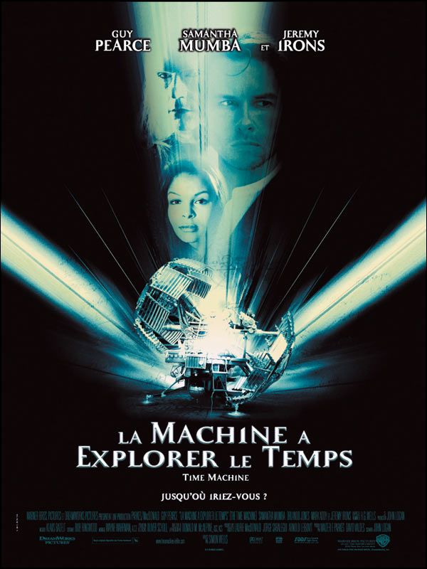 affiche du film La machine à explorer le temps (2002)
