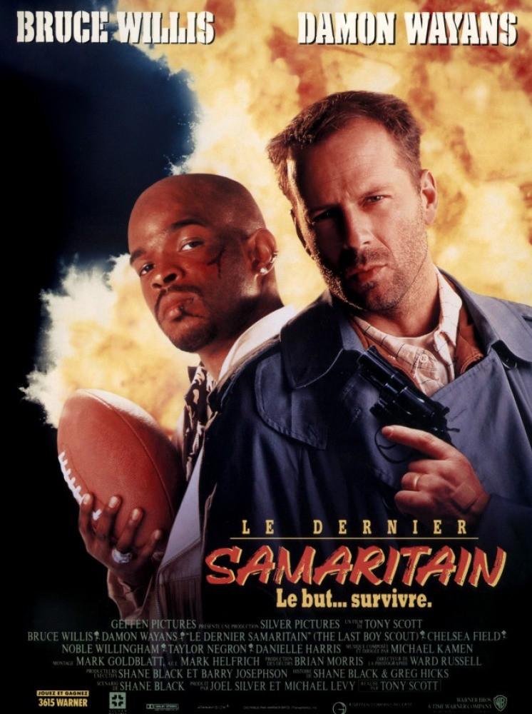 affiche du film Le dernier samaritain