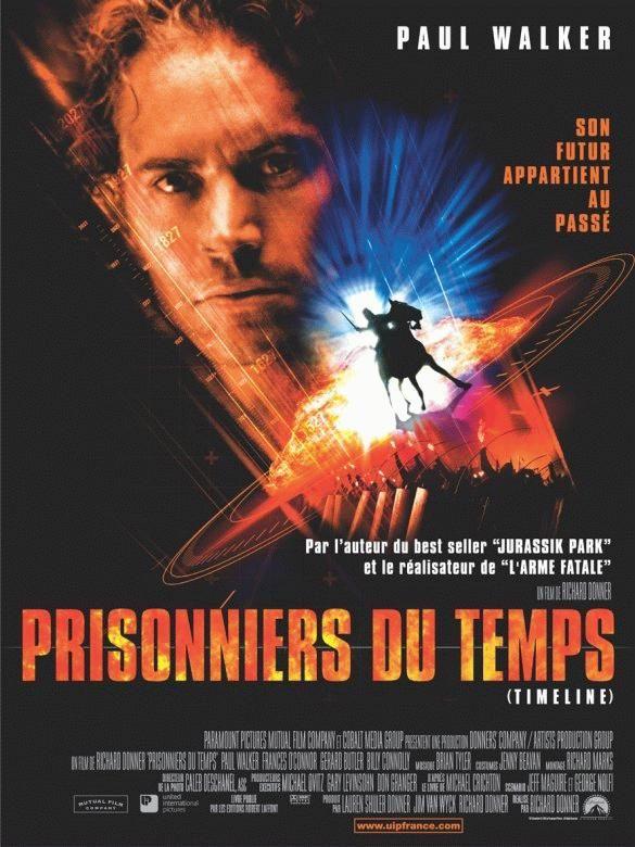 affiche du film Prisonniers du temps