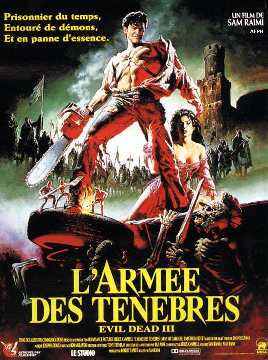 affiche du film L'Armée des ténèbres