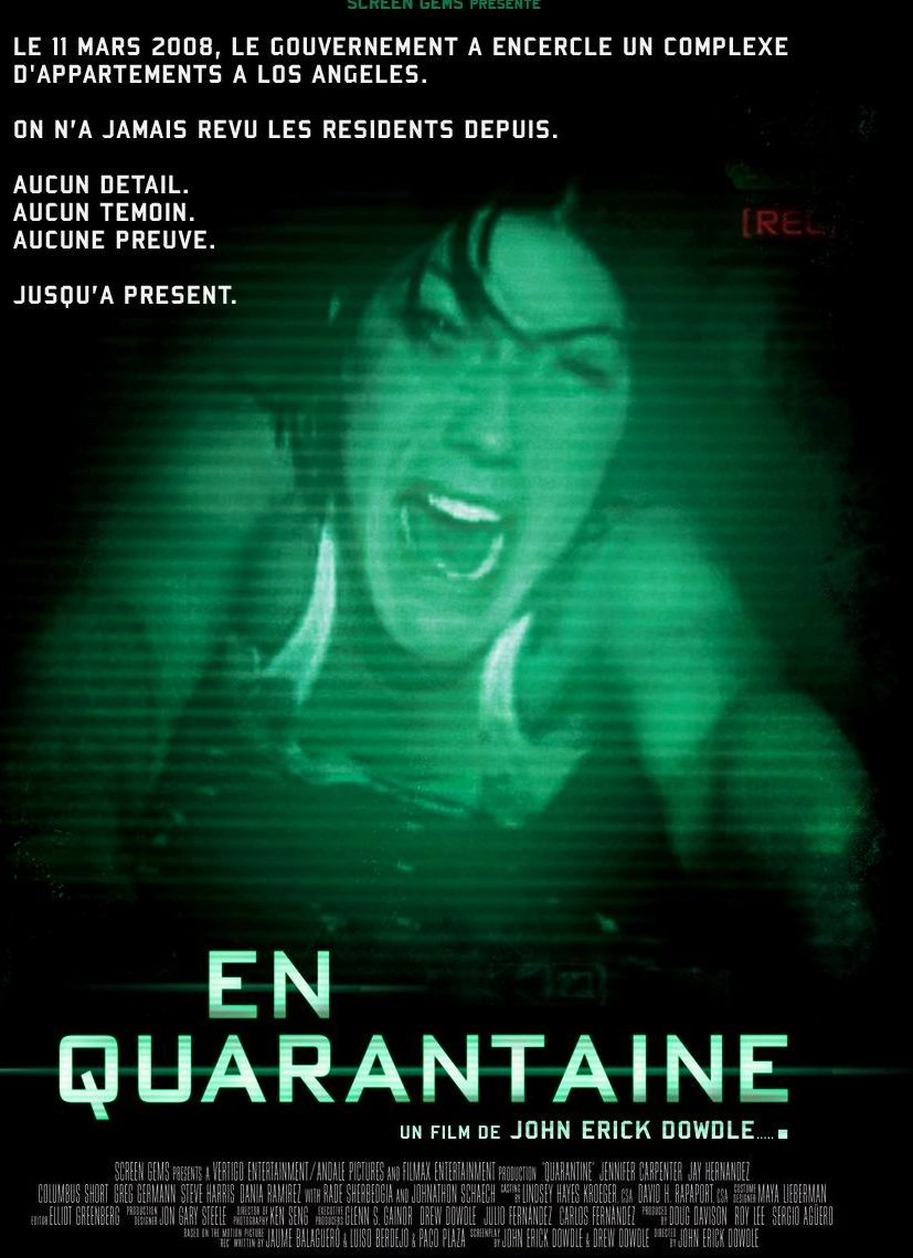 affiche du film En quarantaine