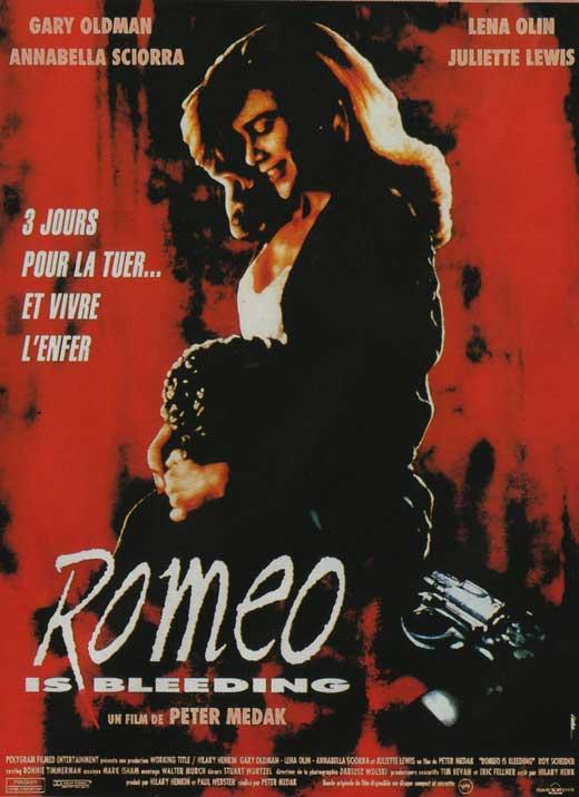 affiche du film Romeo is Bleeding