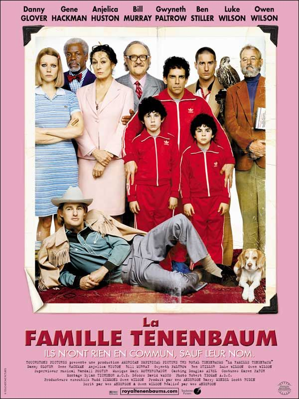 affiche du film La famille Tenenbaum