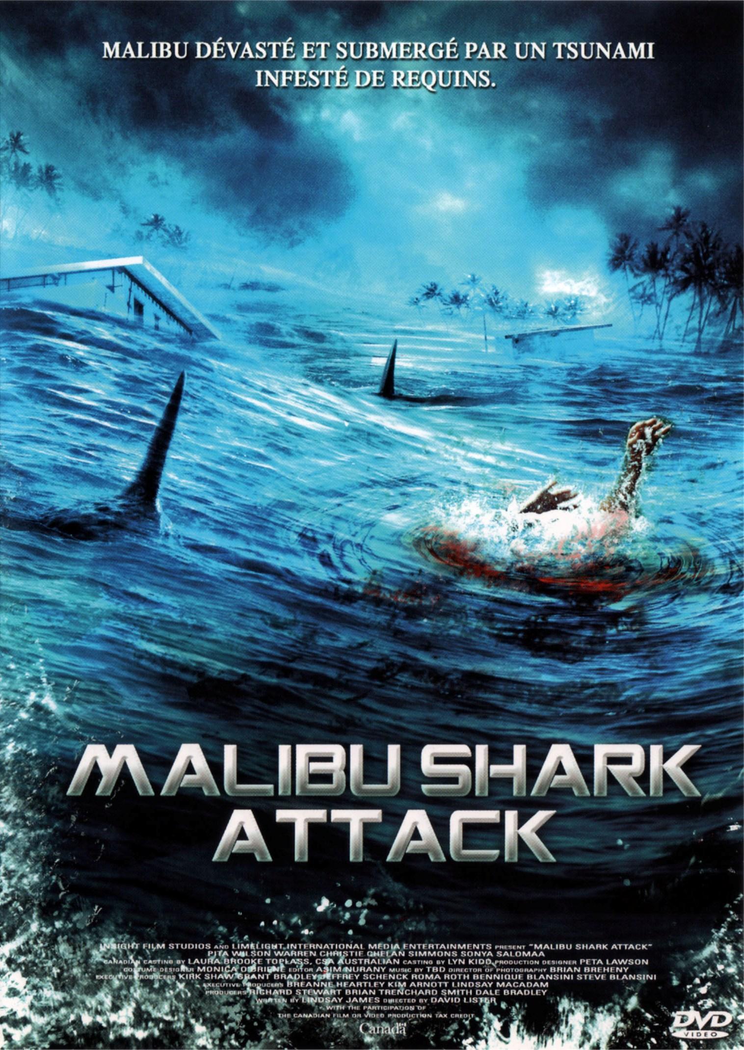 affiche du film Malibu Shark Attack (TV)
