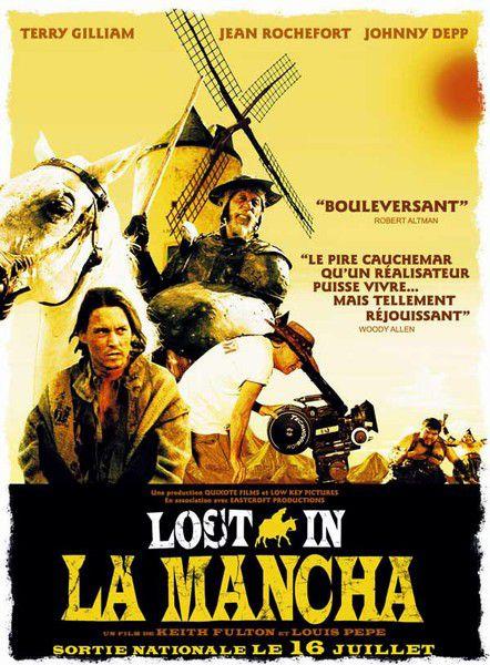 affiche du film Lost in La Mancha