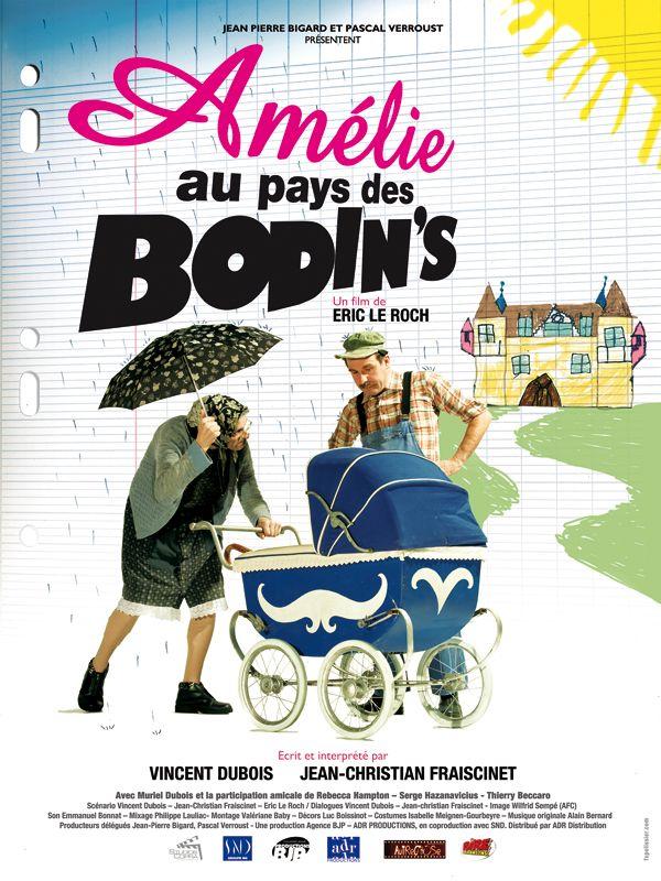 affiche du film Amélie au pays des Bodin's
