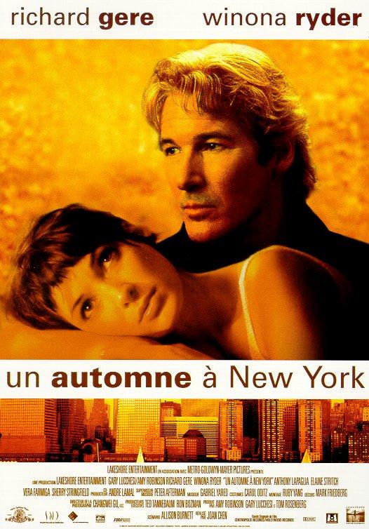 affiche du film Un automne à New York