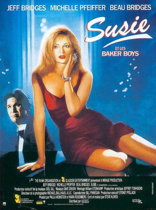 affiche du film Susie et les Baker Boys