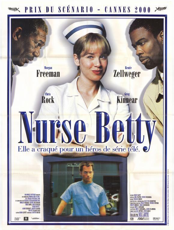affiche du film Nurse Betty