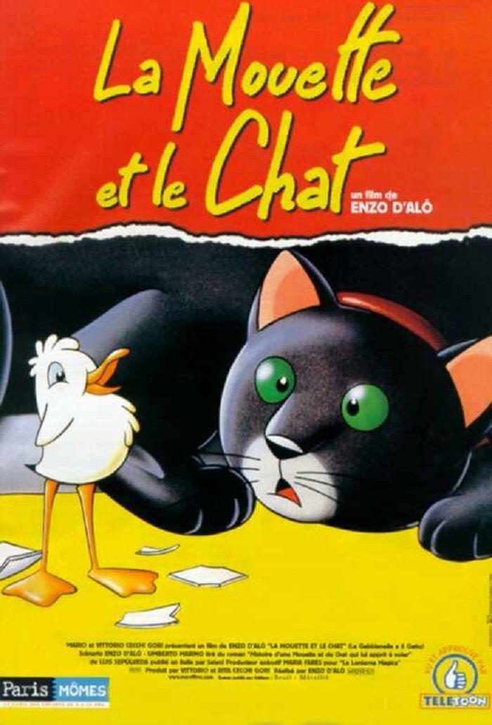 affiche du film La Mouette et le Chat