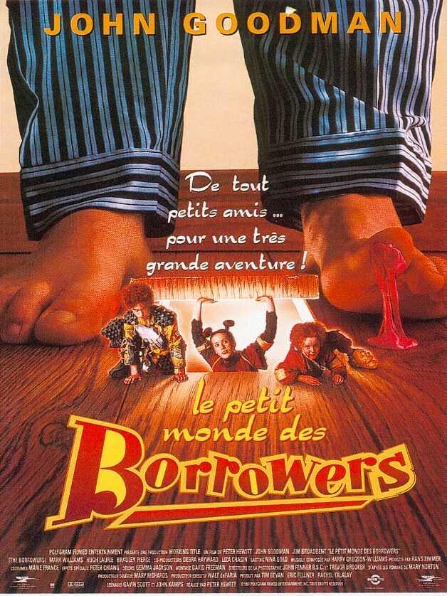 affiche du film Le petit monde des Borrowers