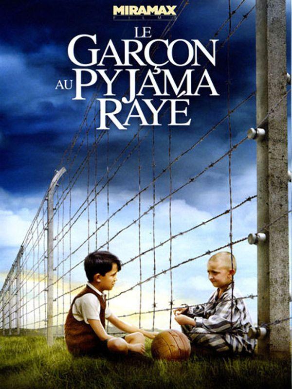 affiche du film Le Garçon au pyjama rayé