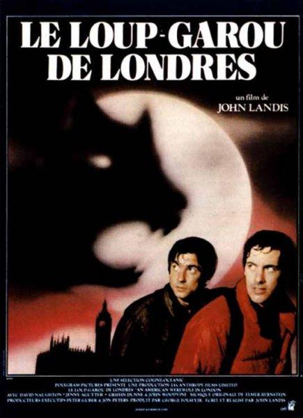 affiche du film Le loup-garou de Londres