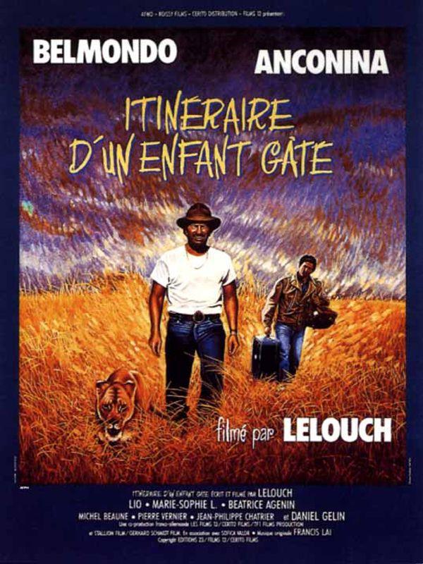 affiche du film Itinéraire d'un enfant gâté