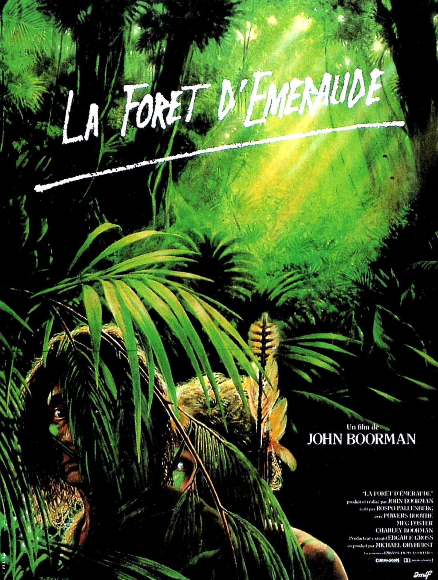 affiche du film La forêt d'émeraude