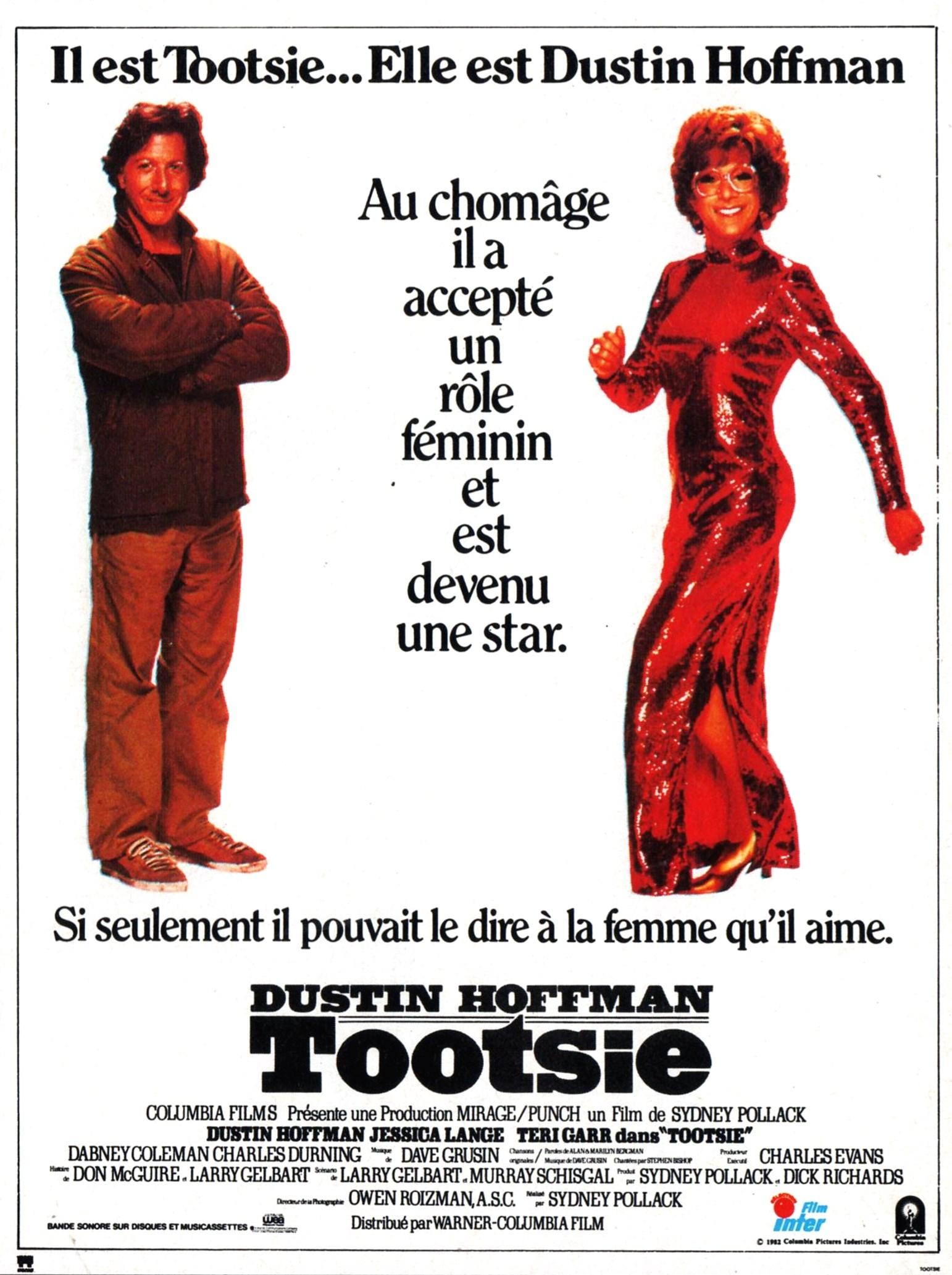 affiche du film Tootsie