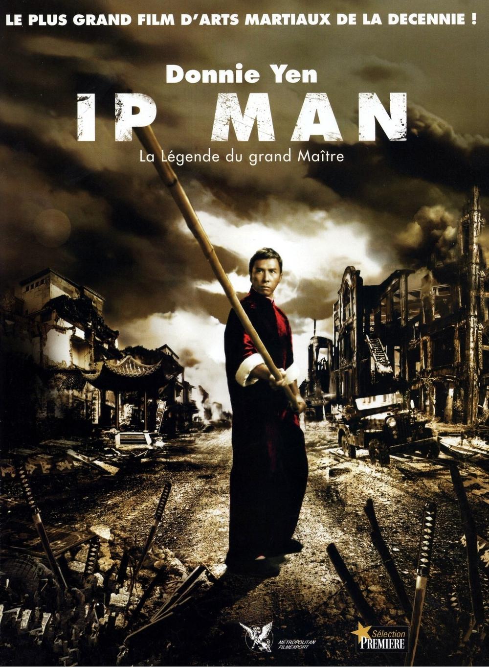 affiche du film Ip Man: La Légende du Grand Maître