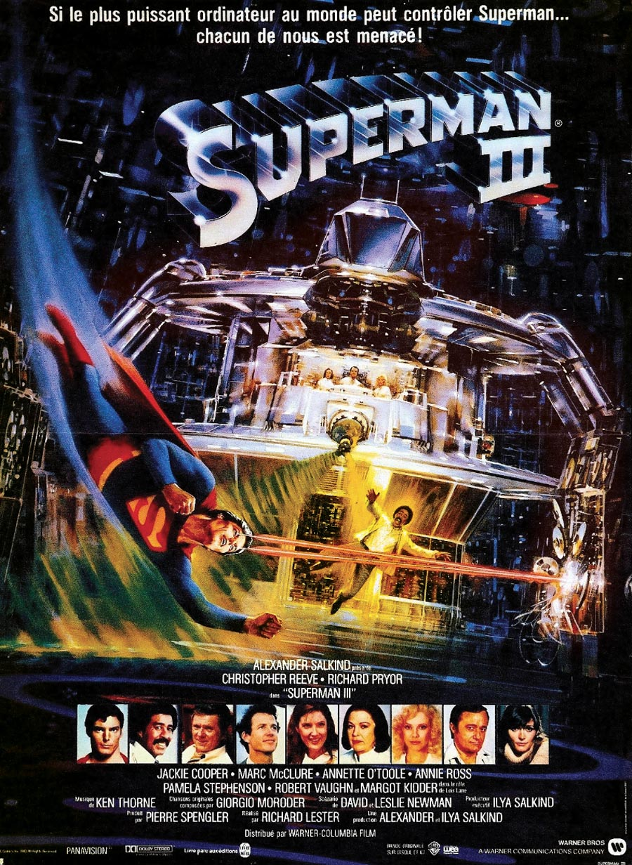 affiche du film Superman III