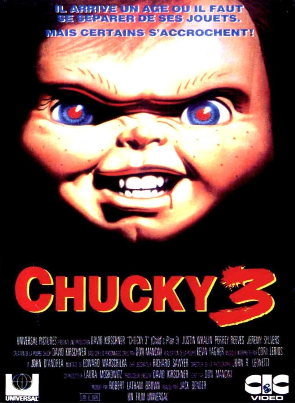 affiche du film Chucky 3